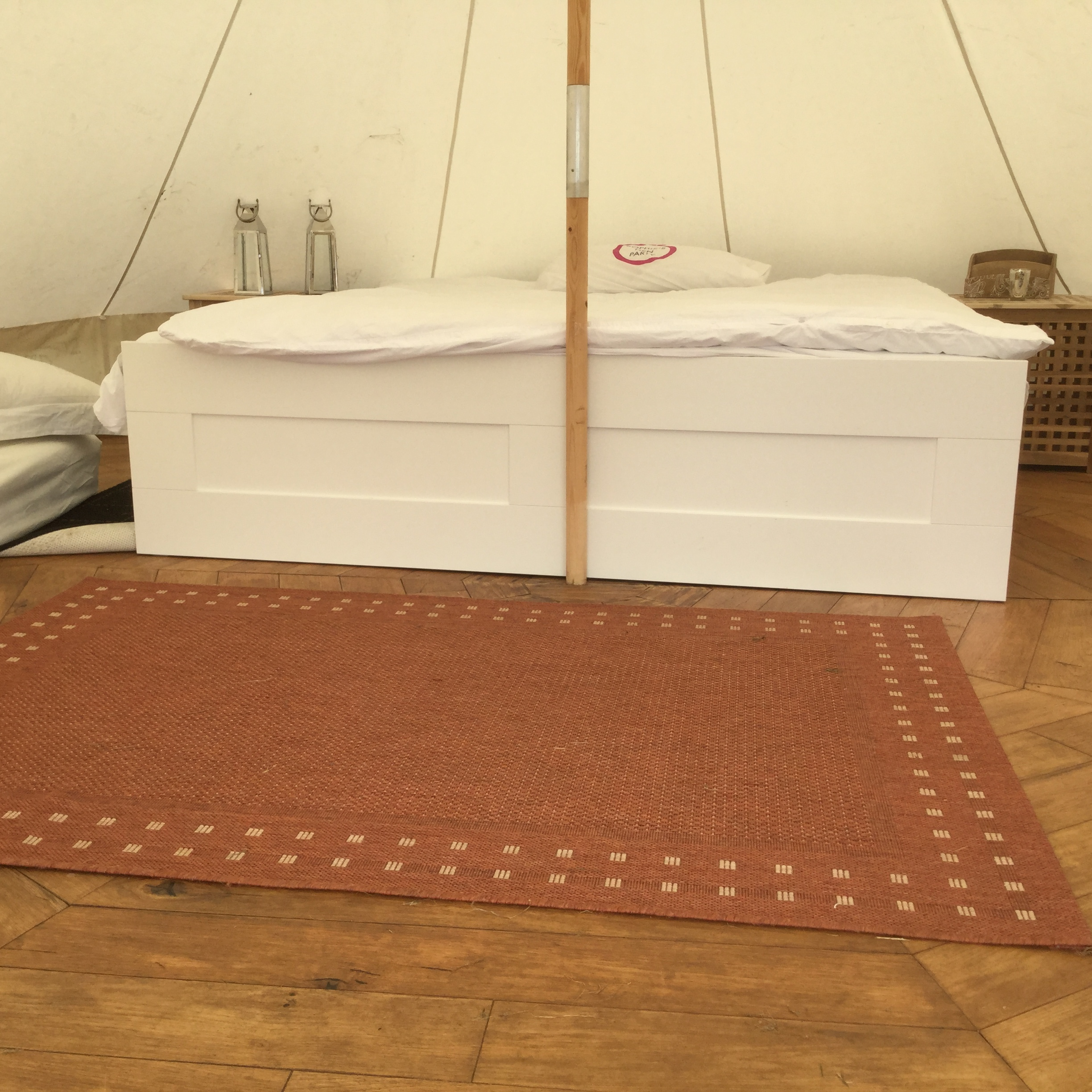 Bell Tent at Manor Farm